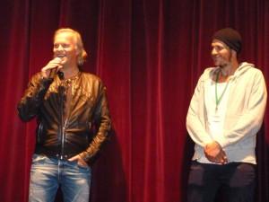 Regisseur Markus Blunder und Schauspieler Gustaf Skarsgård